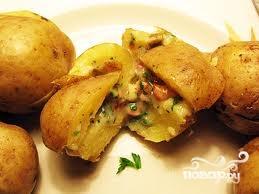 Рецепт Картофель в мундире в мультиварке