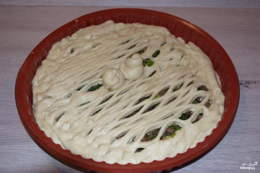 Простой пирог с мясом - фото шаг 6