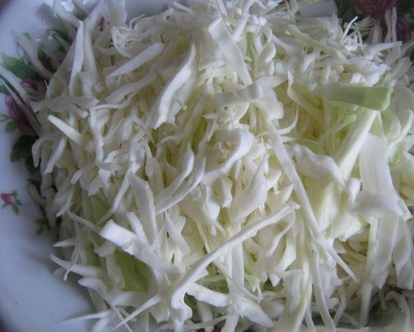 Грибная солянка с капустой - фото шаг 3