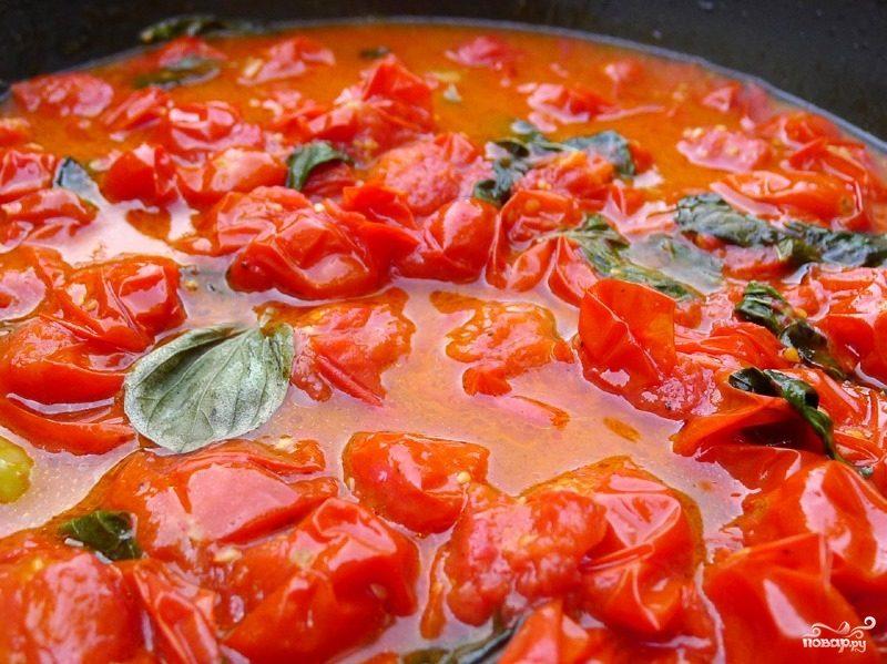 Соус из помидоров черри