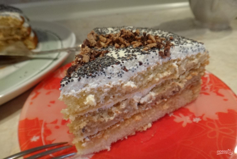 Торта мечта жизни рецепт пошагово