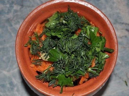 Баранина с овощами в горшочках - фото шаг 10
