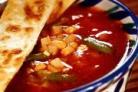 Мексиканский суп с тортильями