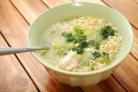Куриный суп с лапшой роллтон