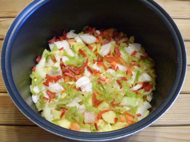 Картофельное рагу - фото шаг 4
