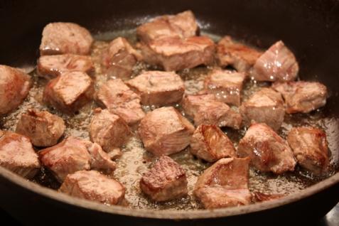 Рецепт Картофель с говядиной в духовке