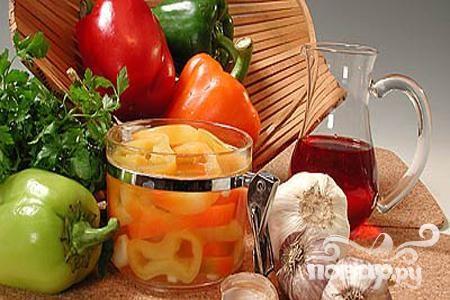 Рецепт Перец сладкий в масле