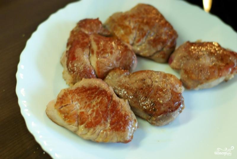 Мясо в горчичном соусе - фото шаг 5