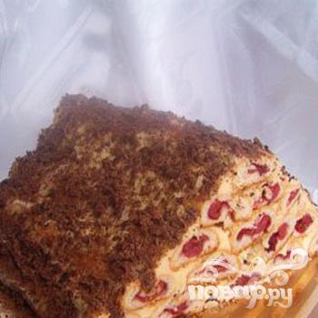 """Торт """"Монастырская изба"""" со взбитыми сливками - фото шаг 6"""