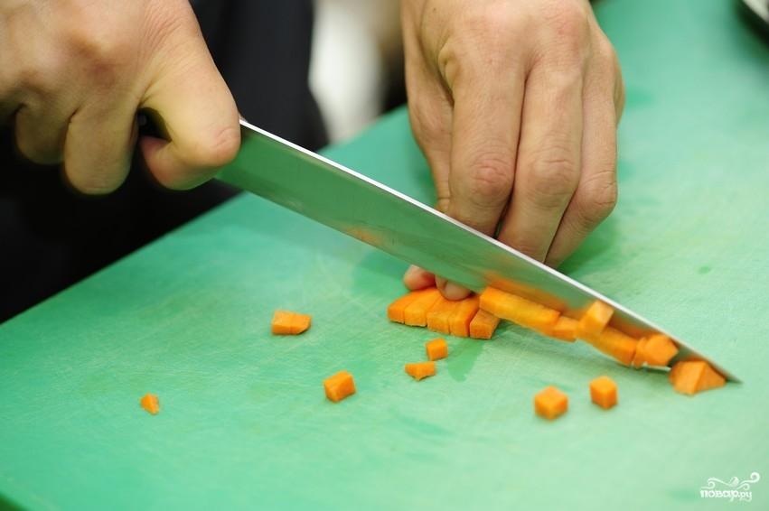 Рецепт Суп из лисичек с фасолью