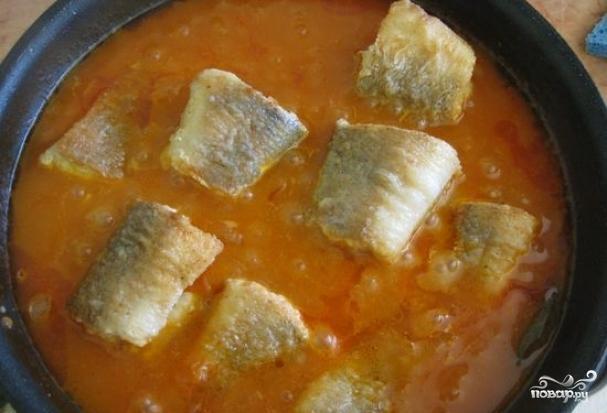 рыбная подливка рецепт с фото