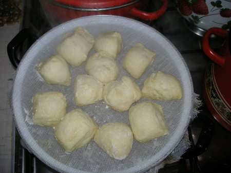 Рецепт полтавских галушек на пару с фото
