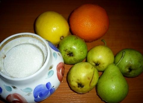 Рецепт Груши в сахарном сиропе