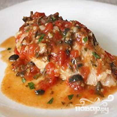 Куриное филе в томатном соусе - фото шаг 6