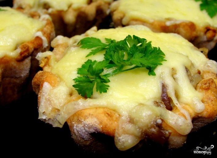 Рецепт Жульен с плавленным сыром