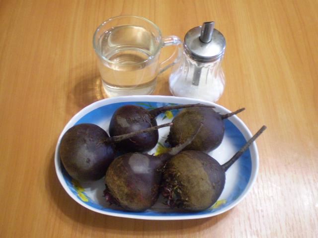 Рецепт Квас из свеклы без дрожжей