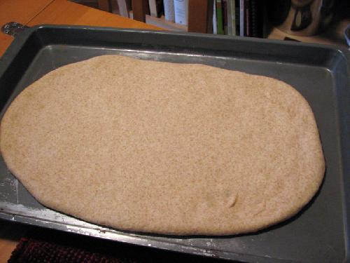 Пицца с колбасой - фото шаг 11