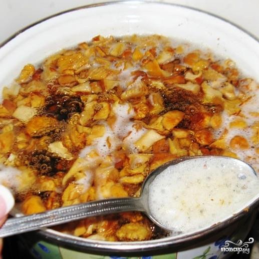 грибной суп из лисичек с сыром рецепт с фото