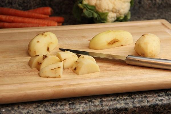 Запеканка из цветной капусты и картофеля - фото шаг 2
