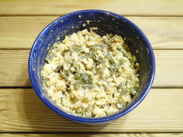 Салат к рыбе - фото шаг 6