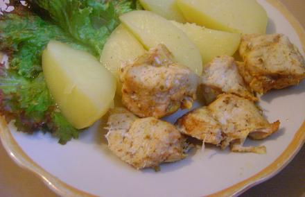 Курица в пароварке - фото шаг 7