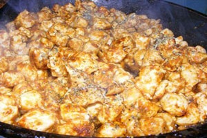 Летний салат с курицей - фото шаг 2