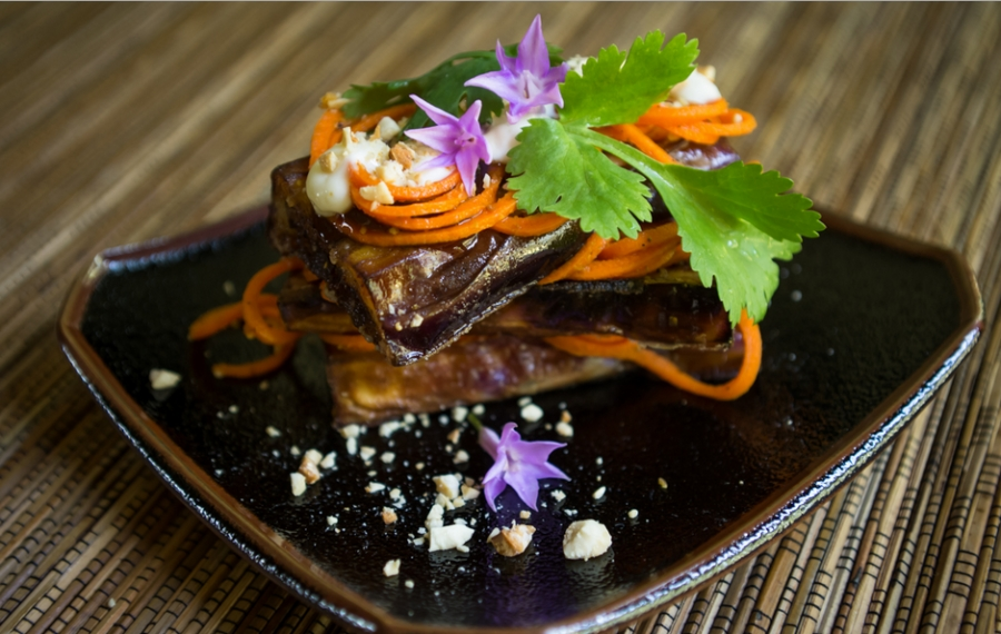 Баклажаны с морковкой по-корейски - фото шаг 3