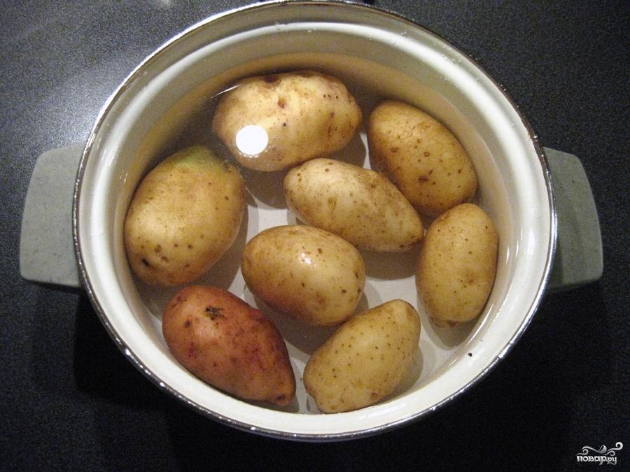 Рецепт Салат из яиц и картофеля