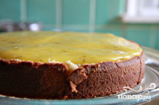 Кокосовый торт со сливочной начинкой - фото шаг 3