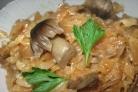 Капуста с грибами на зиму