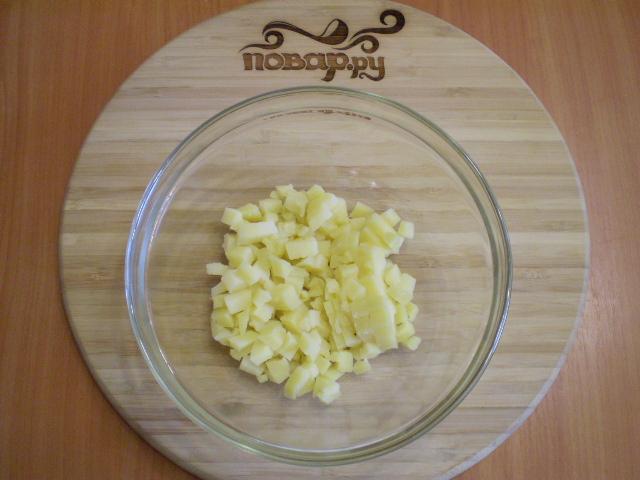 Салат с печенью куриной - фото шаг 2