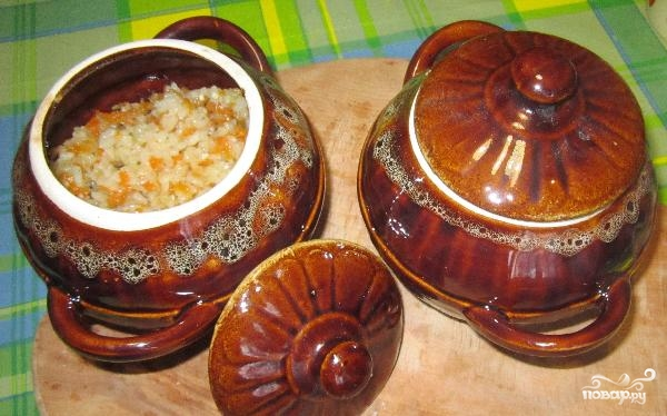 Свинина с рисом в горшочке - фото шаг 4