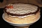 Медовый торт в заварном тесте