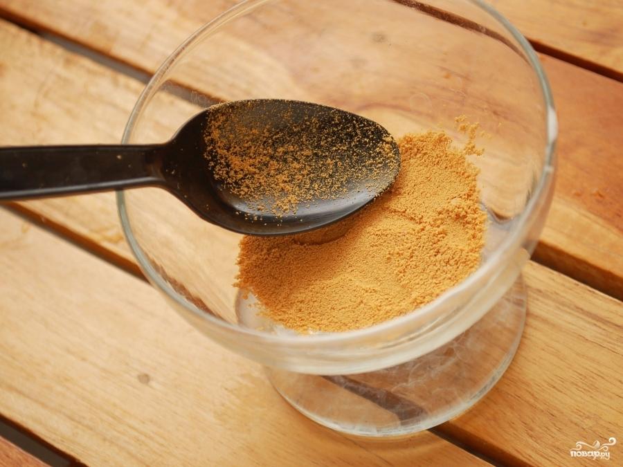 Десерт с персиками - фото шаг 2