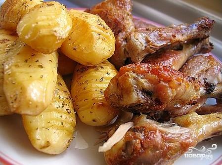 Курица в сметане с чесноком - фото шаг 7