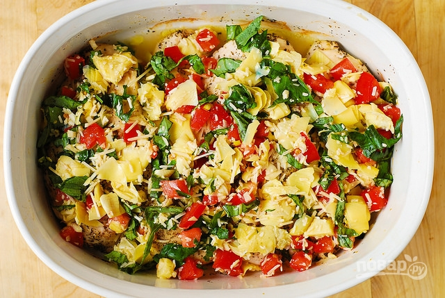 куриное филе под шубой в духовке рецепты
