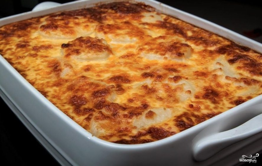 Рецепт Запеканка из тертого картофеля