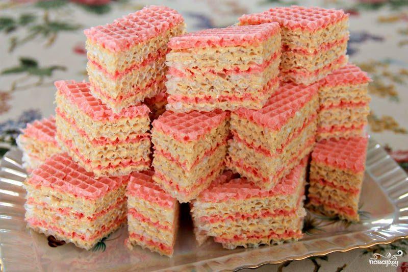 Украинский вафельный торт