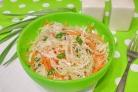 Диетический салат из капусты