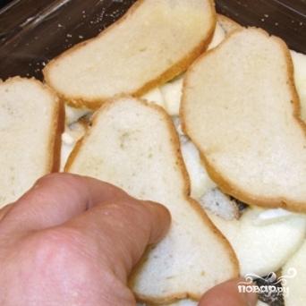 Яблоки, запеченные с черствым хлебом - фото шаг 6