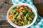 Быстрый овощной салат