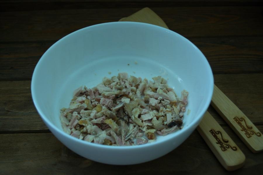 Салат с курагой  и курицей - фото шаг 1