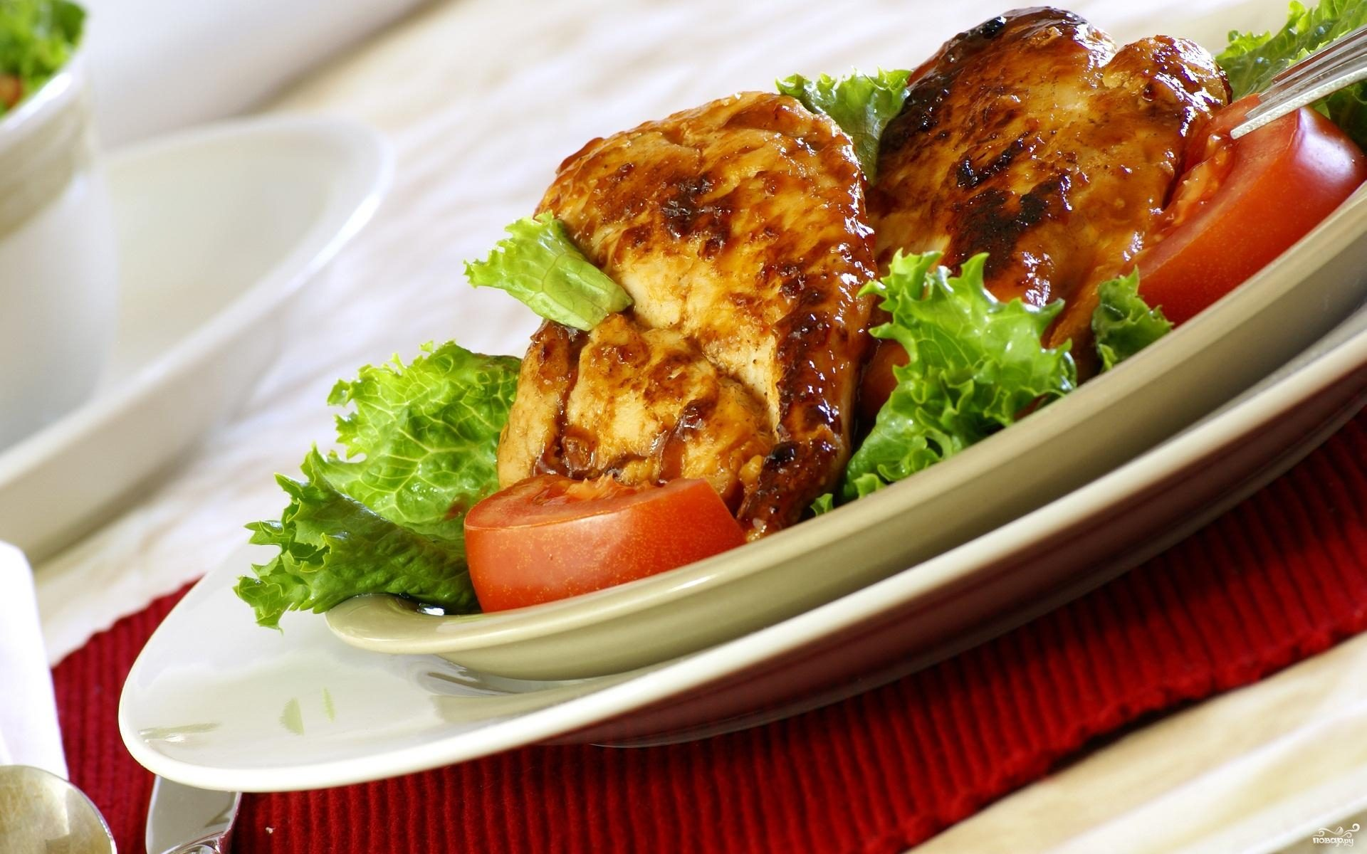 Рецепт Свинина с луком и помидорами