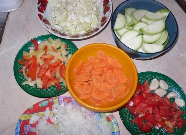 Курица с кабачками и картошкой - фото шаг 2