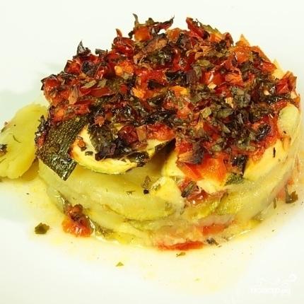 Запеканка из кабачков и картофеля - фото шаг 3