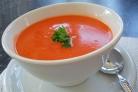 Острый томатный суп с бараньим горохом