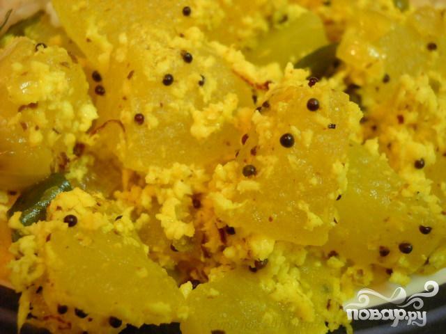 Блюдо из сладкой тыквы - фото шаг 7