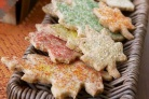 Домашнее печенье в форме кленовых листьев