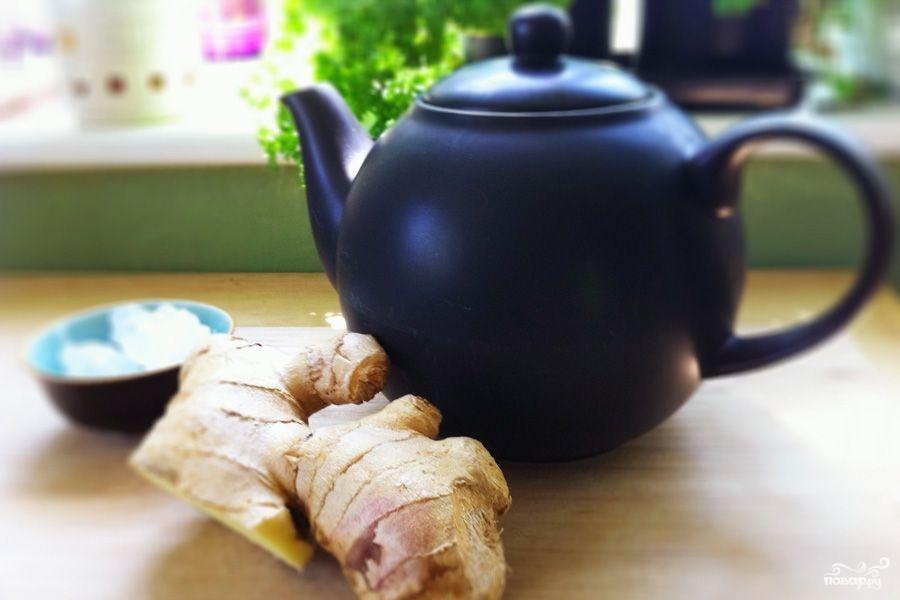 Рецепт Имбирный напиток для похудения