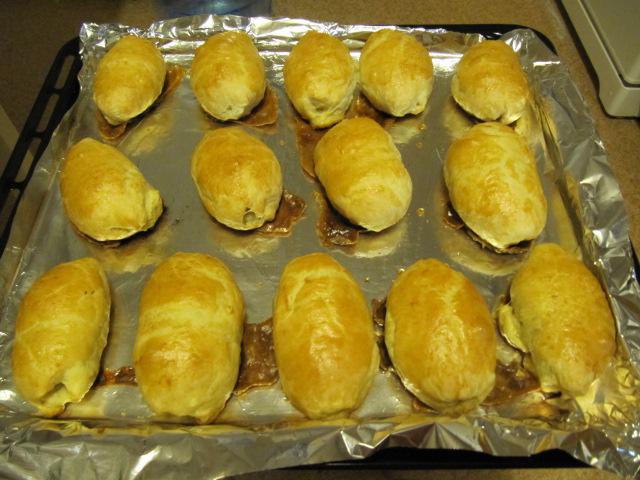 Быстрые пирожки - фото шаг 7